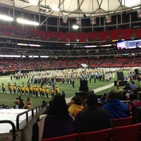 Photo taken at Georgia Dome by Camryn B. on 1/26/2013