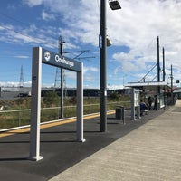 Photo taken at Onehunga Train Station by Darren D. on 1/14/2018