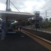 Photo taken at Swanson Train Station by Darren D. on 2/22/2013