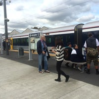 Photo taken at Onehunga Train Station by Darren D. on 5/2/2014