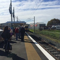 Photo taken at Onehunga Train Station by Darren D. on 5/10/2014