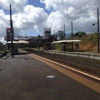 Photo taken at Swanson Train Station by Darren D. on 12/7/2012