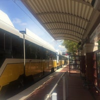 Photo taken at Downtown Plano Station (DART Rail) by Darren D. on 9/17/2014