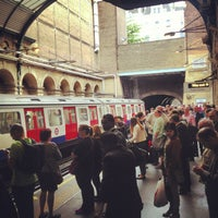 Photo taken at Paddington London Underground Station (District, Circle and Bakerloo lines) by Dennis G. on 7/1/2013