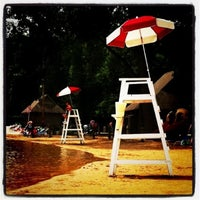 Photo taken at Harold Hall Quarry Beach by Laura S. on 7/10/2013