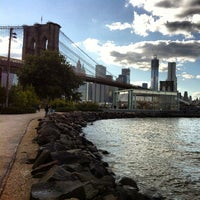 Photo taken at Brooklyn Bridge Park by Brad B. on 9/24/2012