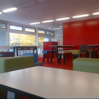 Photo taken at University of Warwick Library by Niki T. on 10/12/2012