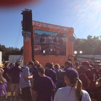 Photo taken at ESPN College GameDay by Rob H. on 11/3/2012