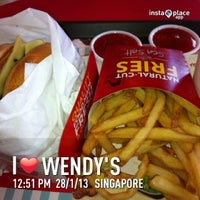 Photo taken at Wendy's by Francis T. on 1/28/2013