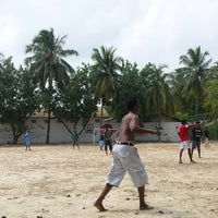 Photo taken at Paradise Island Resort Football Ground by Hassan S. on 11/7/2014