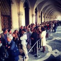 Photo taken at Doge's Palace by Veneziadavivere on 4/23/2013
