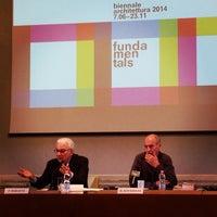 Photo taken at Ca' Giustinian by Veneziadavivere on 3/10/2014