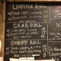 Photo taken at Luke's Lobster by Looper McNickelback on 5/15/2013