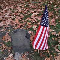 Photo taken at Paul Revere's Tomb by Looper McNickelback on 11/15/2015