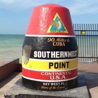 Photo taken at Southernmost Point Buoy by Looper McNickelback on 4/13/2013