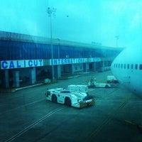 Photo taken at Calicut International Airport by Taufik N. on 11/9/2014