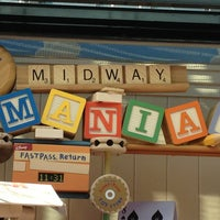 Photo taken at Toy Story Mania! by thayane r. on 1/23/2013