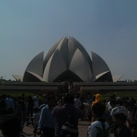Photo taken at Lotus Temple (Bahá'í House of Worship) by Amit G. on 9/30/2012