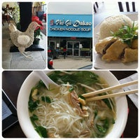 Photo taken at Pho Ga Dakao by Hanh on 12/18/2014