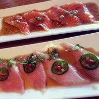 Photo taken at Sushi Saurus by Hanh on 9/29/2013