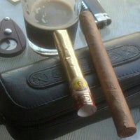 Photo taken at King Corona Cigars Cafe & Bar by Professor T. on 1/13/2013