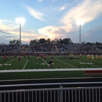 Photo taken at Nation Ford High School Stadium by Chad H. on 10/10/2014