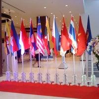 Photo taken at ห้องประชุมวายุภักษ์ ศูนย์ราชการเฉลิมพระเกียรติฯ by Tanaporn H. on 10/3/2012
