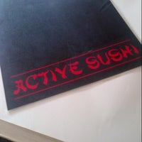 Photo taken at Active Sushi by Osamu 隊. on 5/31/2014