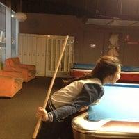Photo taken at ICUE Billiard by HAU™ on 11/2/2012