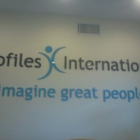 Photo taken at Profiles International, LLC by Pinky T. on 4/29/2013