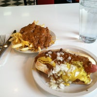 Photo taken at American Coney Island by Winnie on 5/27/2013