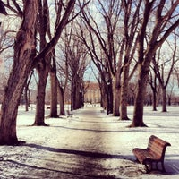 Photo taken at Parc Sir-Wilfrid-Laurier by Frédéric R. on 2/7/2013