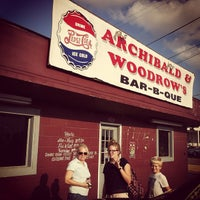 Photo taken at Archibald & Woodrow's BBQ by Steve G. on 8/5/2013
