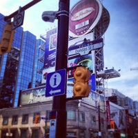Photo taken at Yonge-Dundas Square by Fred Y. on 6/15/2013