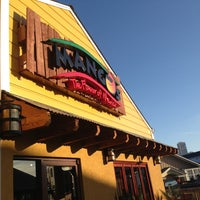 Photo taken at Mango's Taqueria and Cantina by Joan R. on 3/24/2013