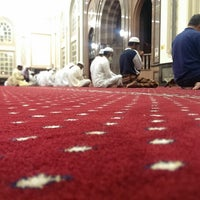 Photo taken at Shaikh Shakhbooth Ibn Sulthan - Musjid by Naseem M. on 9/20/2013
