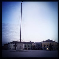 Photo taken at Piazza Grande by Luka D. on 1/14/2018