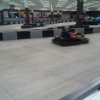 Photo taken at Extreme Grand Prix Indoor Family Fun Center by Jackie F. on 9/29/2014