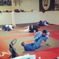 Photo taken at Red Schafer Mixed Martial Arts by Eric Red S. on 2/3/2013