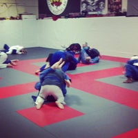 Photo taken at Red Schafer Mixed Martial Arts by Eric Red S. on 3/30/2013
