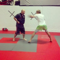 Photo taken at Red Schafer Mixed Martial Arts by Eric Red S. on 8/6/2013