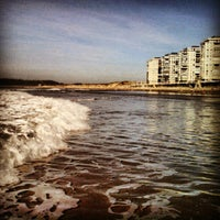 Photo taken at Playa de Salinas / San Juan de Nieva by Pablo M. on 12/13/2012