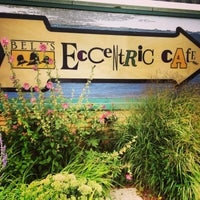 Photo taken at Bell's Eccentric Cafe & General Store by Amber H. on 7/27/2013
