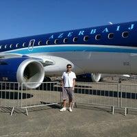 Photo taken at Expo Aero Brasil by Paulo Matheus d. on 7/13/2013