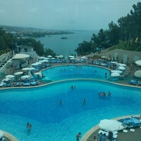 Photo taken at Water Planet Deluxe Hotel & Aquapark by Deniz Ü. on 6/8/2013