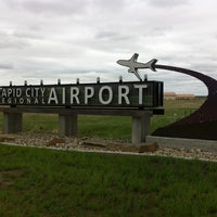 Photo taken at Rapid City Regional Airport (RAP) by Jason on 5/24/2013