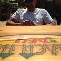 Photo taken at Beach Hut Deli by Jennifer C. on 9/9/2014