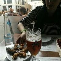 Photo taken at Llibreria Cafè Context by Antonio F. on 5/29/2016