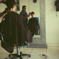 Photo taken at D' Barbers by Helena F. on 10/3/2014