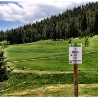Photo taken at Evergreen Golf Course by Dominique M. on 6/8/2013
